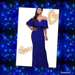 Dresses & Skirts - 🛍Stunning Blue Gown🛍